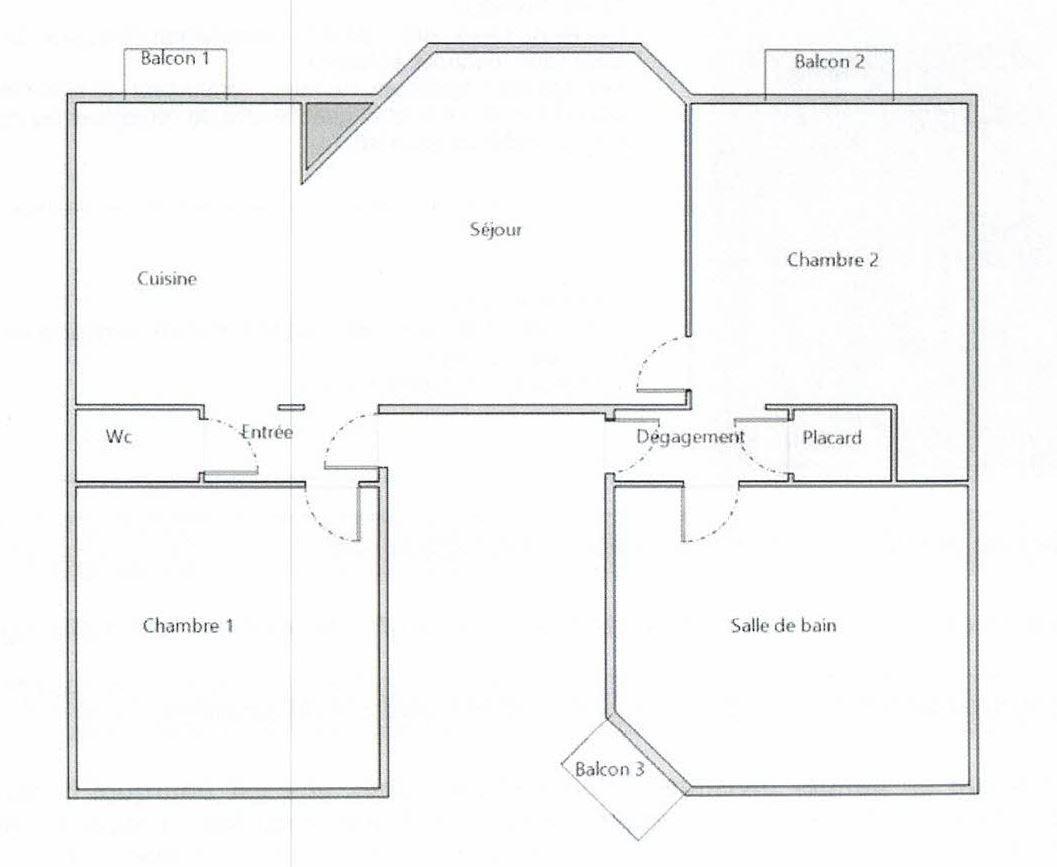VIAGER BREST : joli appartement kerbonne avec balcons et vue mer en viager sans rente