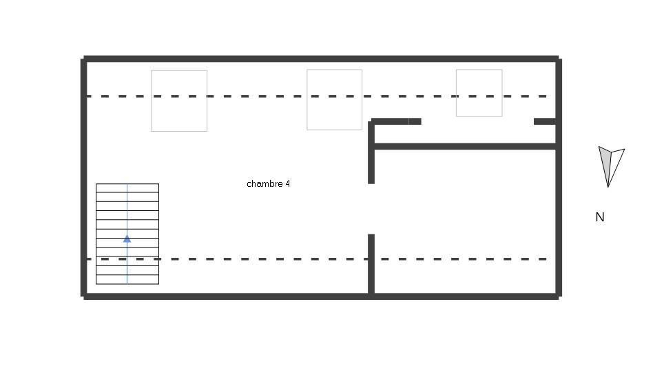 TRINITE PLOUZANE : ravissante maison 3 chambres, bureau, garage et jardin clos