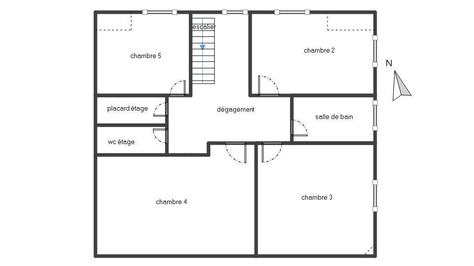 BREST : bien placée, belle maison t7/8 160m² avec balcon, cour et double garage