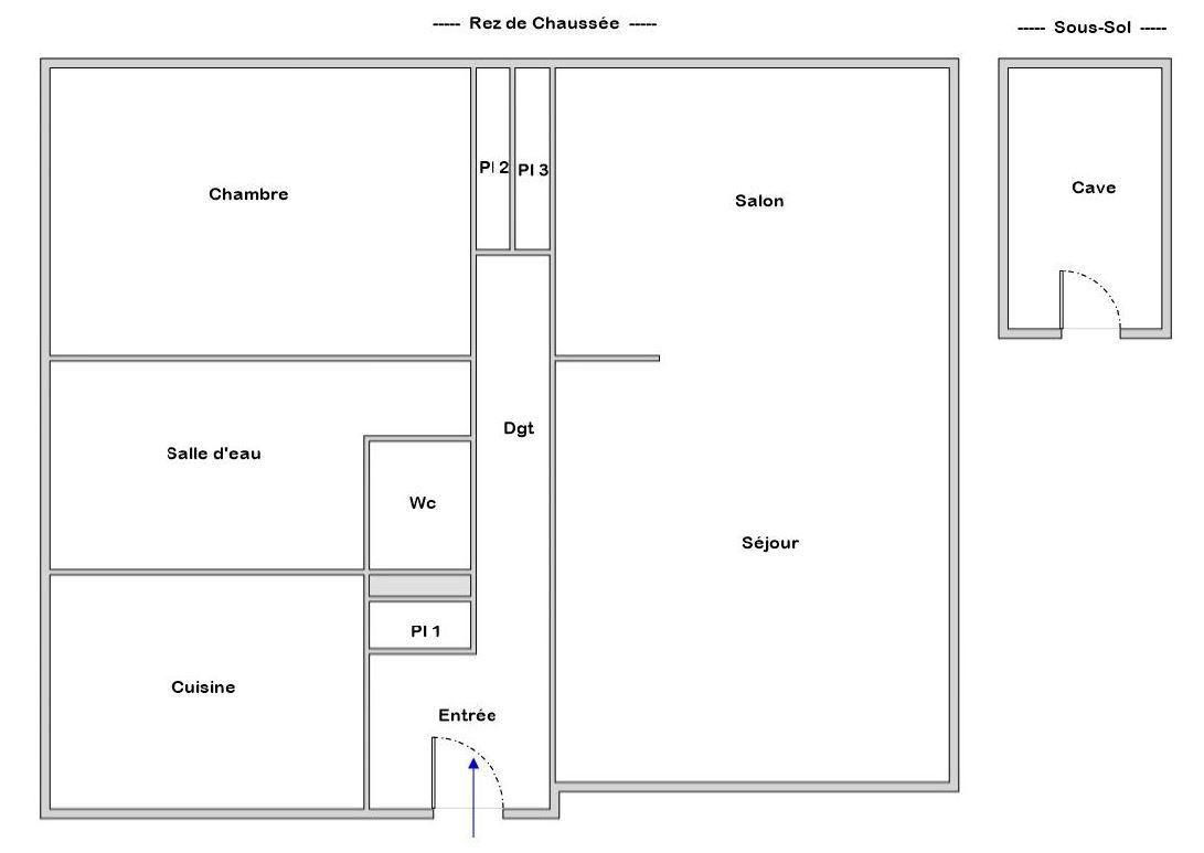 BREST PROCHE CENTRE : charmant appartement de 73m² sans vis-a-vis