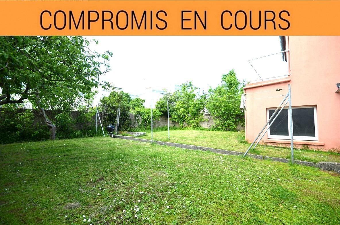 BREST: maison 120m², 4 chambres, un bureau, jardin clos et grand garage