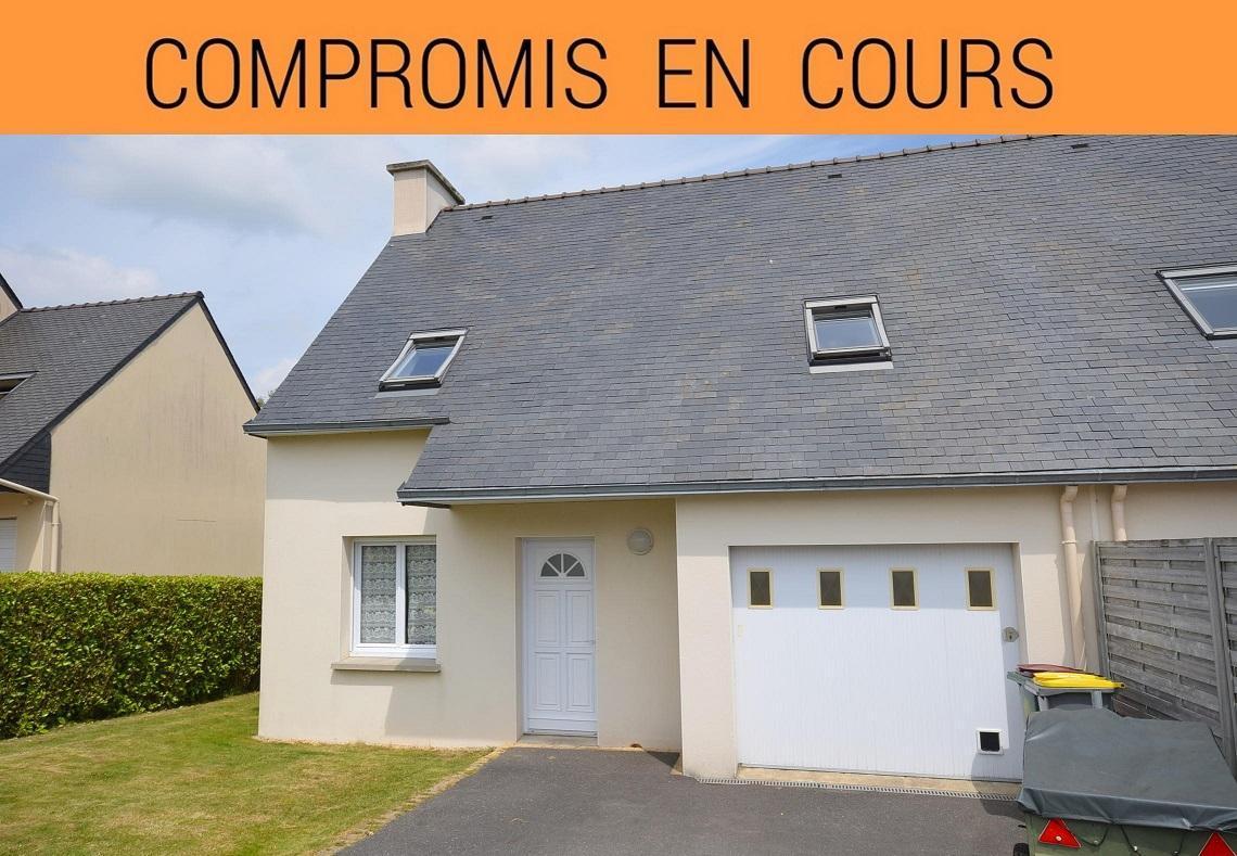 GOUESNOU: en impasse, jolie maison récente avec 3 chambres, garage fermé et jardin clos
