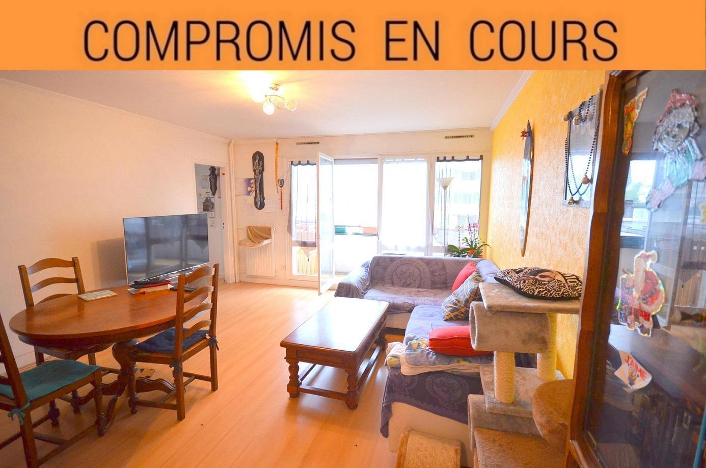 BREST: bien placé, appartement avec grand balcon et 3 chambres
