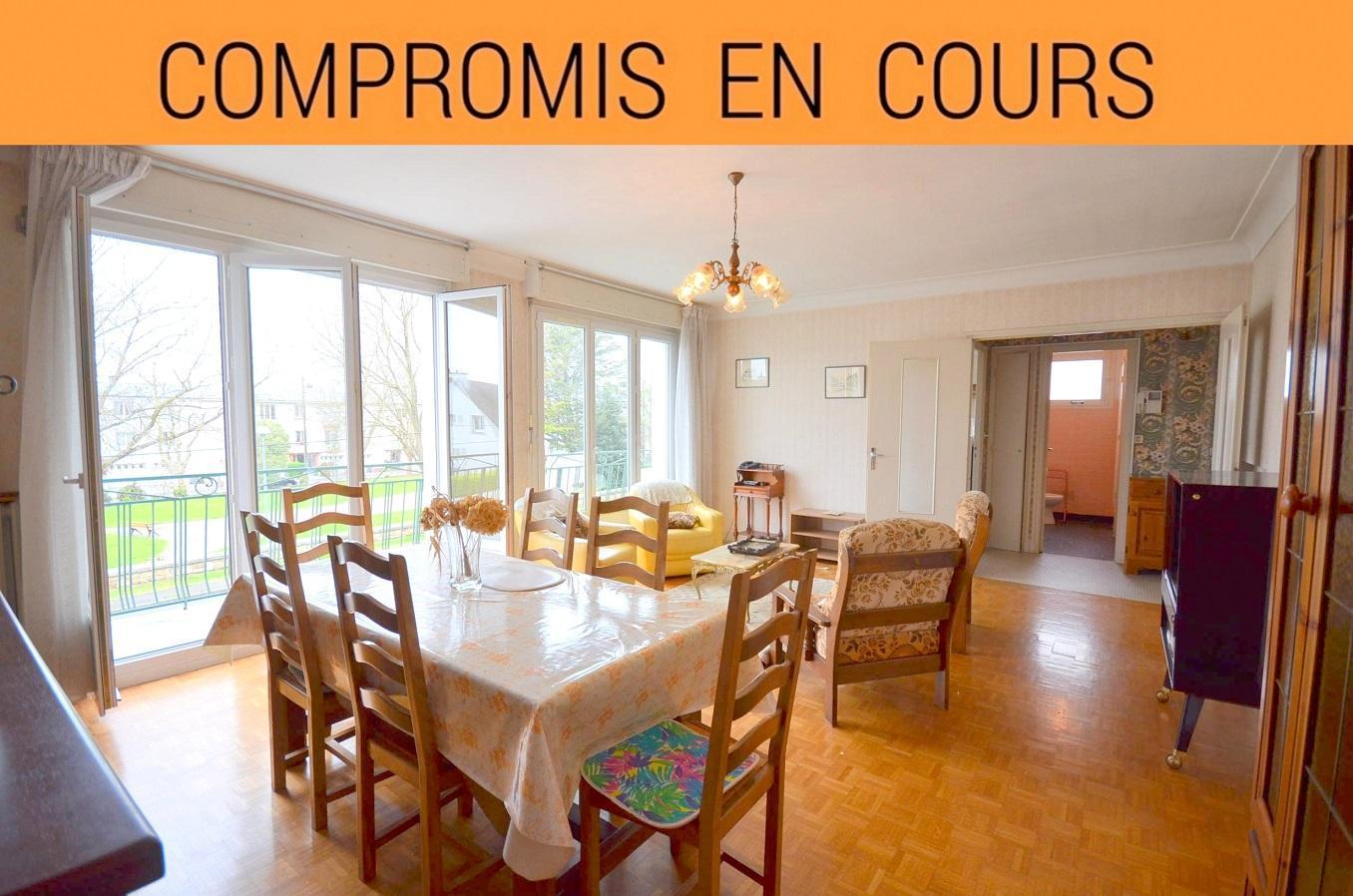 BREST RIVE GAUCHE: maison 4 chambres de 130m² avec grand garage et jardin clos