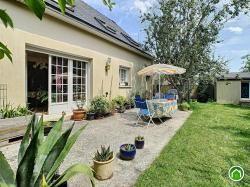 Plouguin : Jolie maison T6 de 100m2 avec jardin clos et arboré