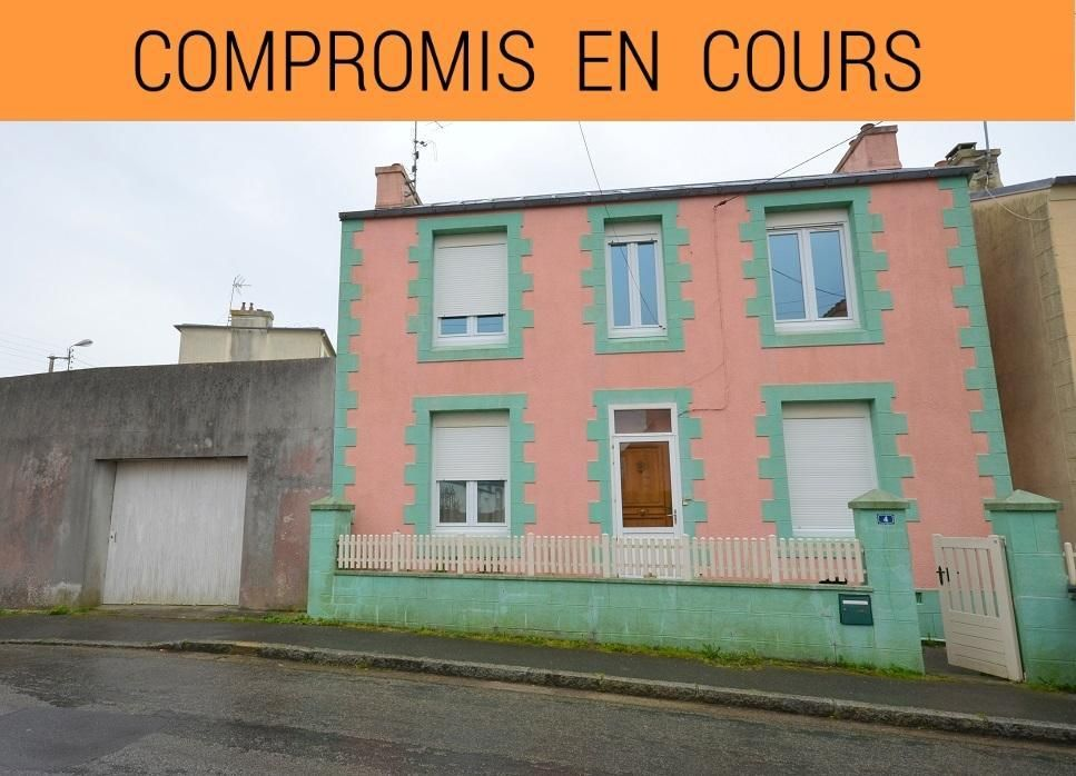 BREST LA CROIX ROUGE : jolie maison avec double garage à rénover