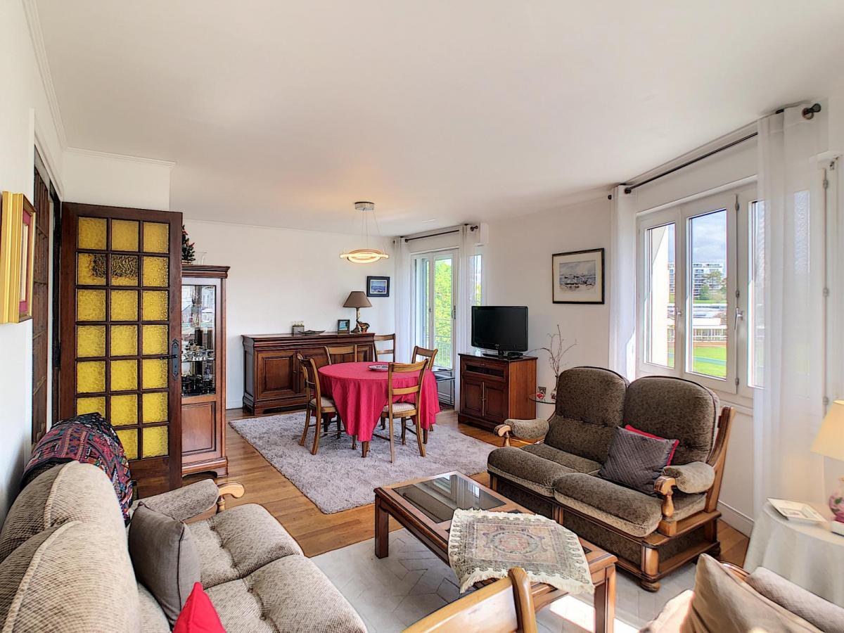 BREST : agréable et lumineux appartement de 100m² avec 3 chambres sans vis-à-vis