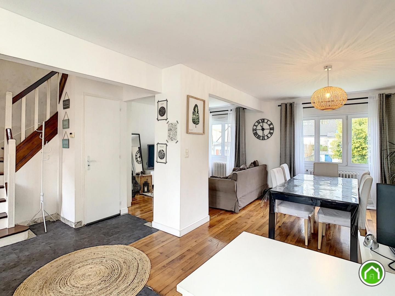 BREST : ravissante maison de ville t4 bis avec sous-sol/garage et jardinet