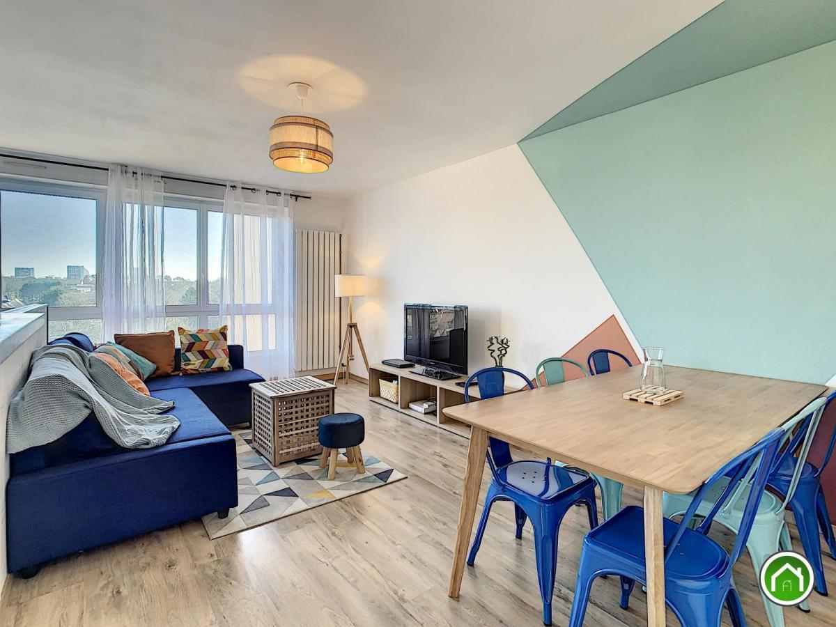 BREST : tres bel appartement trois chambres et vue dégagée en colocation meublée